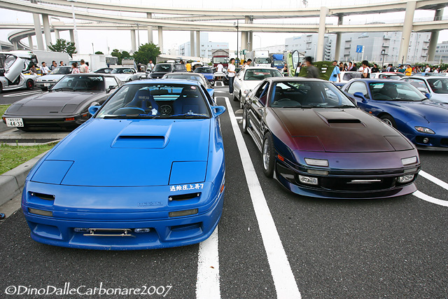 777 - RX-7 Meeting at Daikoku