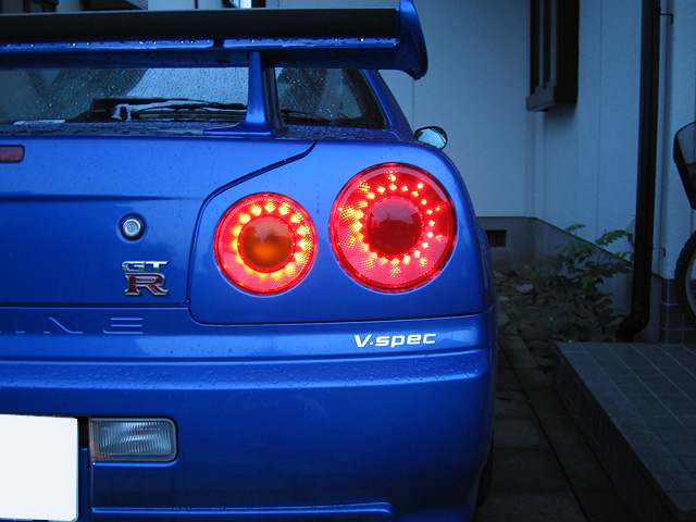 Nismo Led R34 Rear Lights Gt R Register Nissan Skyline
